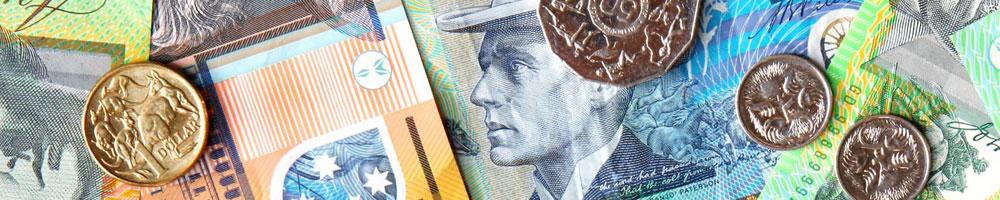 Australian money and coins